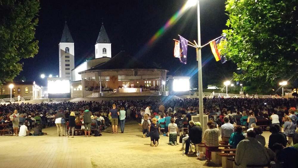Pellegrinaggio a Medjugorje…l'Adorazione Eucaristica…!!!