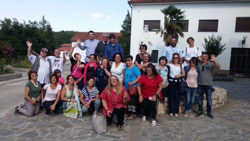 """I """"bambini pellegrini"""" del pellegrinaggio a Medjugorje del 12-17 luglio 2017"""