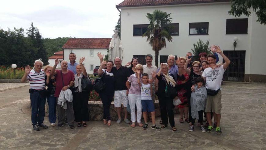 """I """"bambini pellegrini"""" del pellegrinaggio a Medjugorje del 28 giugno – 3 luglio 2017"""