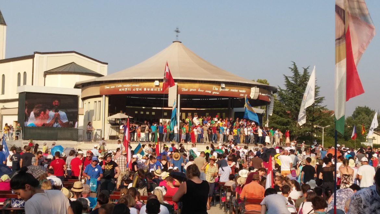 Pellegrinaggio Medjugorje festival giovani..la comunità cenacolo