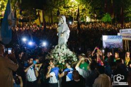 Pellegrinaggio Medjugorje festival giovani…la processione.