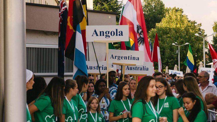 Pellegrinaggio Medjugorje festival giovani.. apertura del ventottesimo.