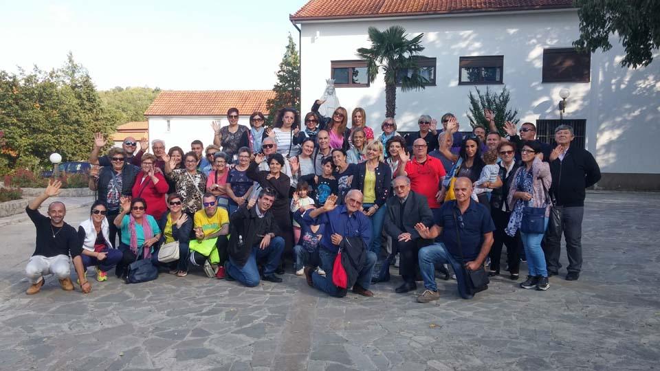 """I """"bambini pellegrini"""" del pellegrinaggio a Medjugorje del 29 settembre 4 ottobre"""