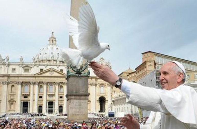Papa Francesco una giornata per la pace