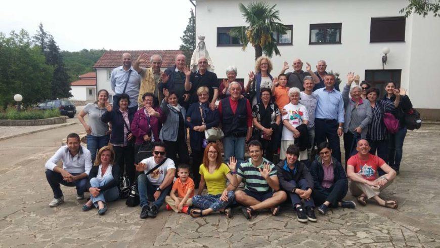 """I """"bambini pellegrini"""" del pellegrinaggio a Medjugorje in traghetto del 30 aprile 4 maggio 2018"""