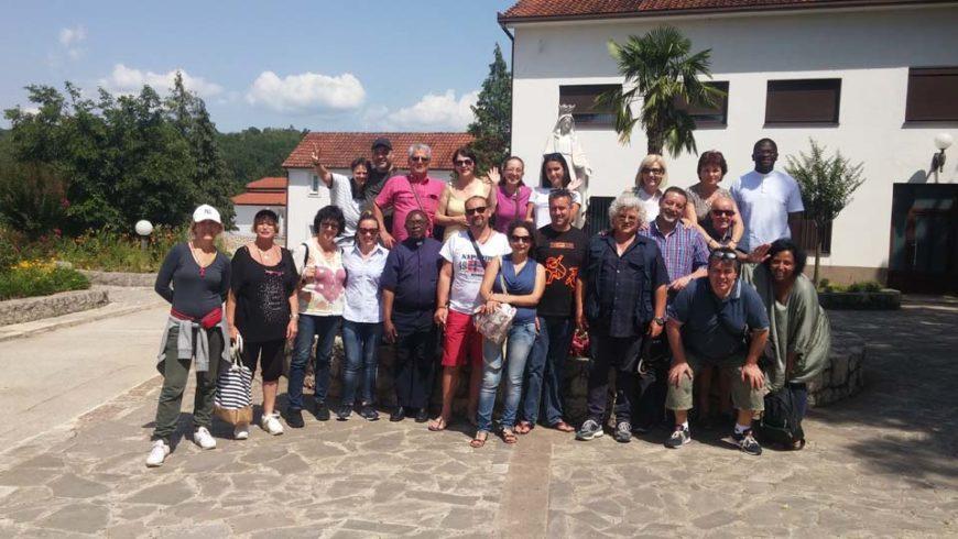 """I """"bambini pellegrini"""" del pellegrinaggio a Medjugorje in traghetto del 29 giugno 4 luglio 2018"""