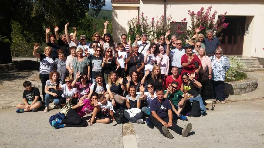 """I """"bambini pellegrini"""" del pellegrinaggio a Medjugorje in traghetto del 31 agosto- 5 settembre 2018"""