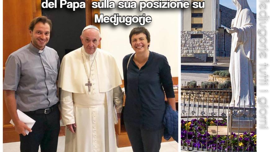 Papa Francesco su Medjugorje