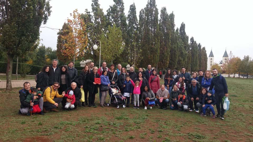 """I """"bambini pellegrini"""" del pellegrinaggio a Medjugorje in aereo del 1- 4 novembre 2018"""