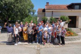 """I """"bambini pellegrini"""" del pellegrinaggio a Medjugorje in traghetto del 28 giugno – 3 luglio 2019"""