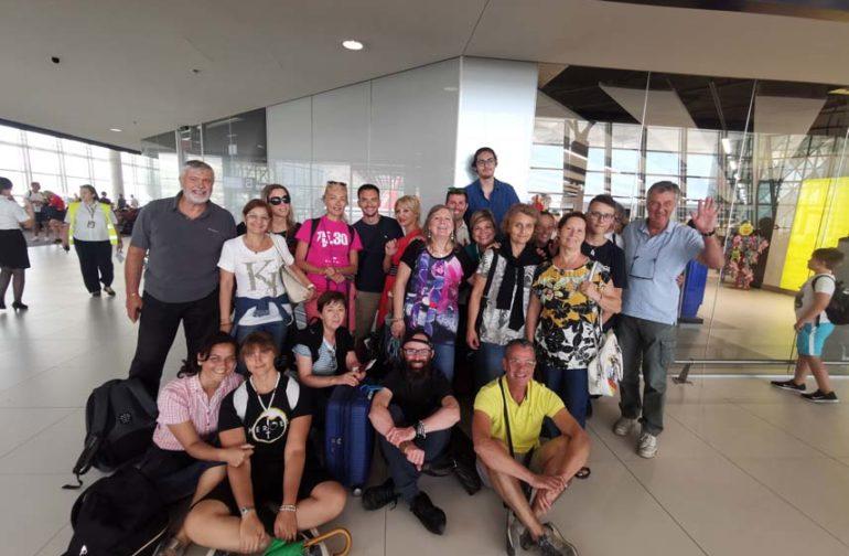 """I """"bambini pellegrini"""" del pellegrinaggio a Medjugorje in aereo del 31 luglio – 6 agosto festival dei giovani"""